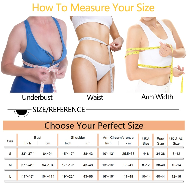 Weight Loss Arm Shaper Slimming Fat Buster Compression Sleeves Upper Arm Wrap Band Slimmer Humpback Posture Correction Tank Tops